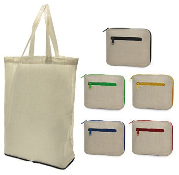 Foldable Eco Friendly Cotton Bags