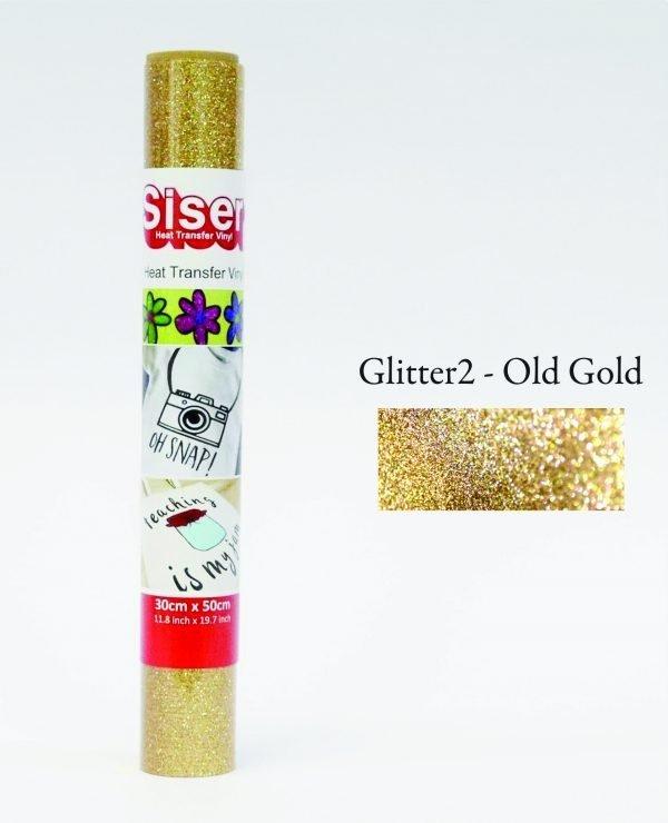 Moda Glitter2 Old Gold