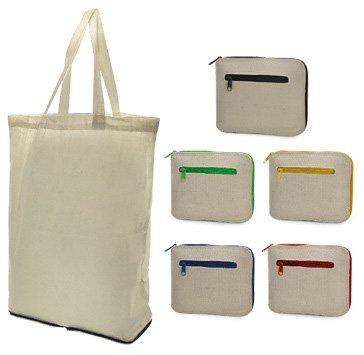 Foldable Eco Friendly Cotton Bags